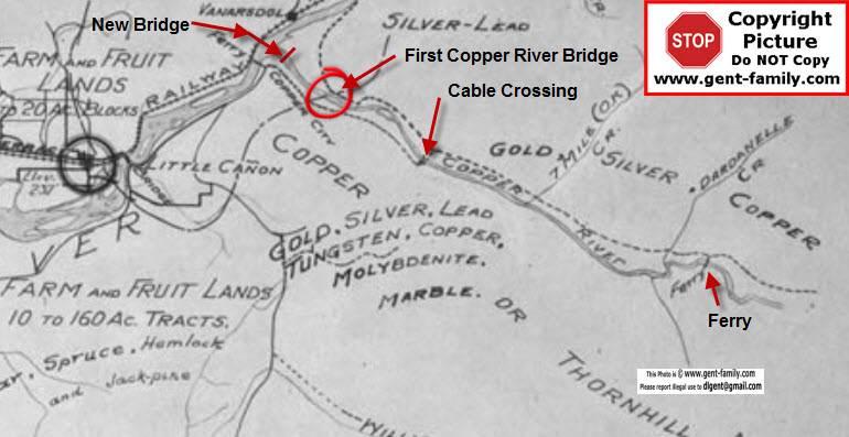 1st Copper River Bridge History